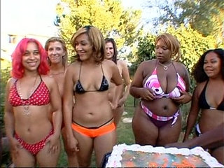 Big phat wet ass orgy