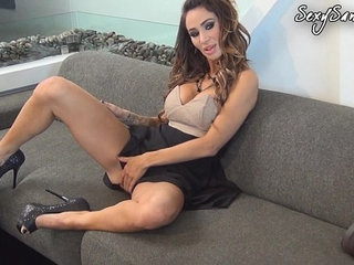 Sandee Westgate Fucks On Couch