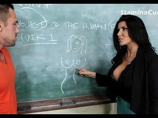 hot big tits teacher fuck her student