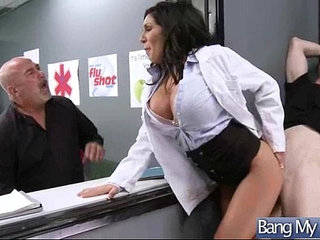 Horny Patient emily b Get Sex Treatment In Doctor Cabinet